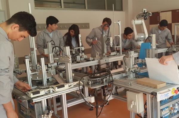 Endüstriyel Otomasyon Teknolojileri Alanı