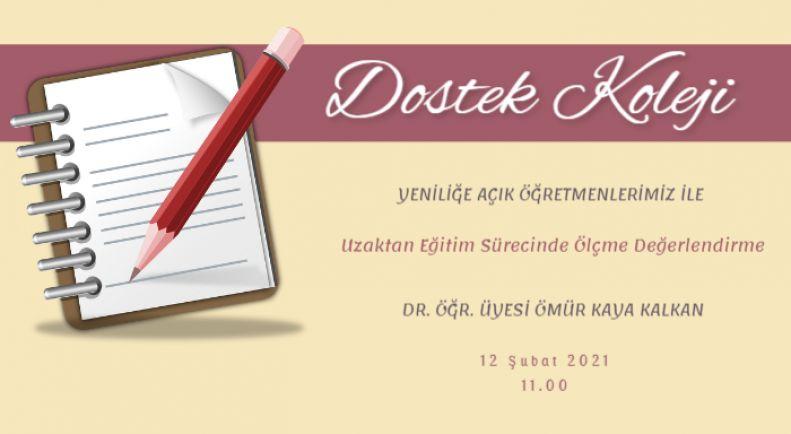Dostek Koleji Öğretmenleri Yarıyıl Tatilini Eğitimle Sonlandırdı !