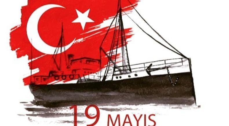 19Mayıs Atatürk'ü Anma Gençlik ve Spor Bayramı Kutlu Olsun