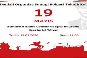 19 MAYIS Çevrim İçi Töreni