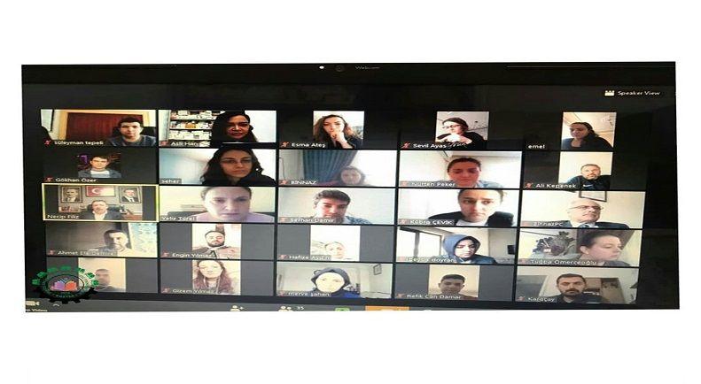 Sayın Necip Filiz ile Online Toplantı Gerçekleştirildi