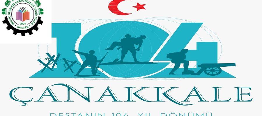18 Mart Çanakkale Zaferi Kutlu Olsun.