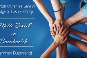 Milli Birlik ve Beraberlik Semineri