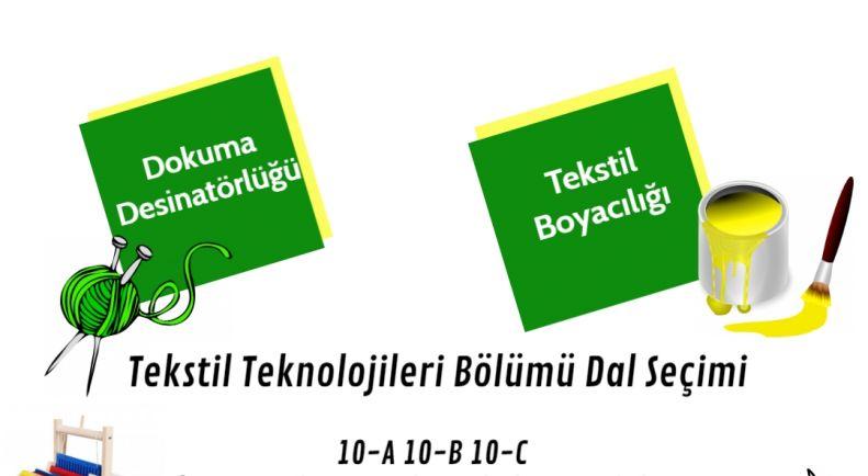 Tekstil Teknolojisi Bölümü Dal Tanıtım Toplantısı Gerçekleştirildi!