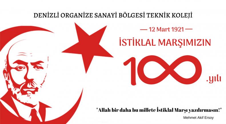 İstiklal Marşı'mızın 100. Yılı