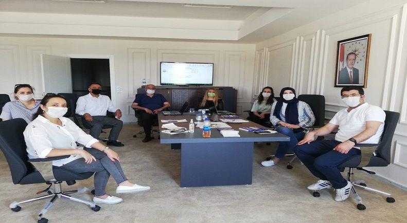 Kalite Yönetim Sistemi Toplantımız Kontrollü Sosyal Yaşama Uygun Yüz Yüze Gerçekleştirildi.