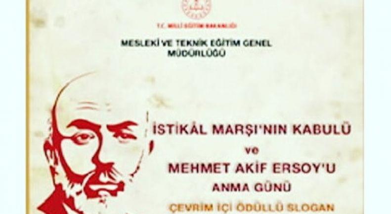 Mehmet Akif ERSOY'u Anma Günü etkinlikleri kapsamında