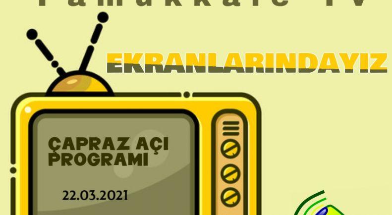 Pamukkale TV Ekranlarındayız !